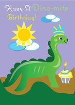 A Dino-Mite Birthday by Kristen Niedzielski