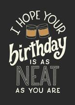Neat Birthday by Ilana Griffo