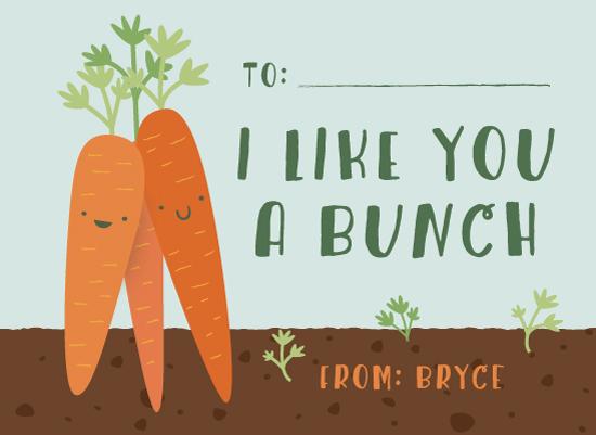 valentine's cards - Bunch of love by Annie Holmquist