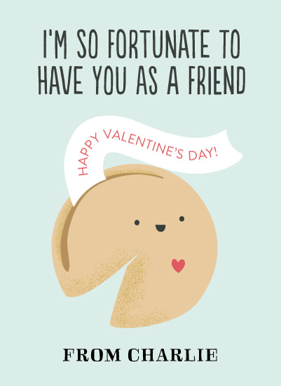 valentine's cards - Fortune Cookie by Itsy Belle Studio