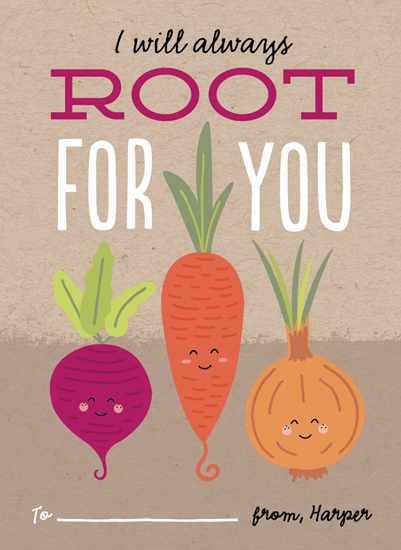 valentine's cards - Root For You by Erica Krystek