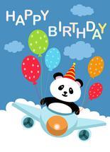 Birthday with Panda by Samiran Sarkar
