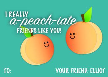 I aPEACHiate Friends Like You