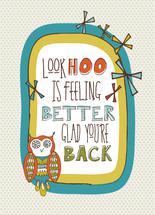 Look Hoo Is Feeling Bet... by Tanya Webb