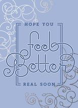 Feel Better Swirls by Debbie Quist