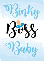 BinkyBossBaby by Gaby Ramirez