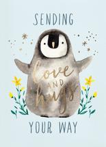 Sending love and hugs by Cindy Chu