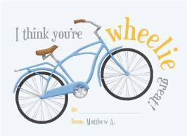 Wheelie Great Valentine