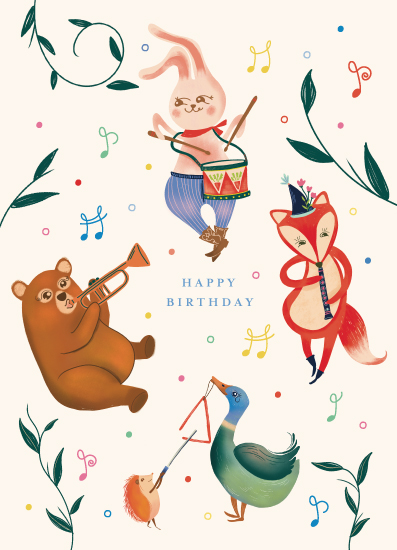 greeting cards - Birthday Party by Vivian Yiwing