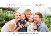 Faith Love Hope by Kristen Fajardo