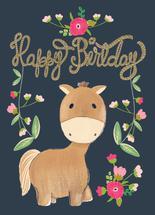 Birthday Pony by Shelley Seguinot