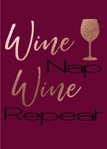 Wine Nap Wine Repeat by Nicole Chinnici