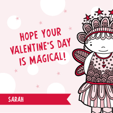 valentine's cards - Magical Fairy by Tazi