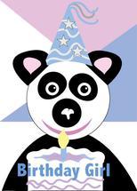 Birthday Wishes Panda by Kristen Niedzielski