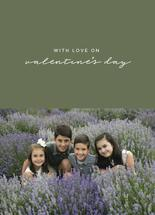 with love on V'day by amanda lawrence