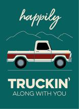 Truckin Along by Christina Goss