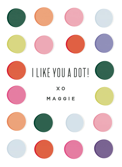 valentine's cards - Dot by Carolyn MacLaren