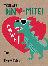 Dino-mite! by Sugar Pie Paper