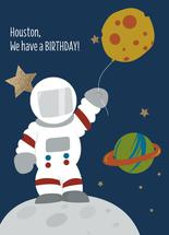 Astronaut birthday by Kelly Lani