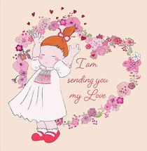 sending my love to you by Tina Lee
