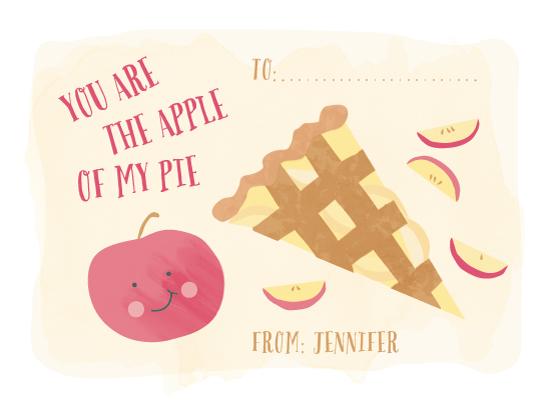 valentine's cards - Apple of my pie by frau brandt