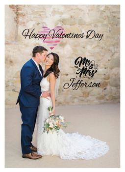 Mr and Mrs Valentine