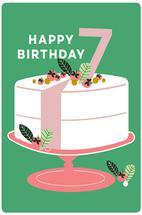 Happy 7th Birthday by Jenna Skead