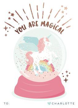Magic glitter unicorn