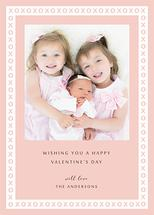 XOXO Frame Valentine's... by Jenny Rajan Valiaveetil