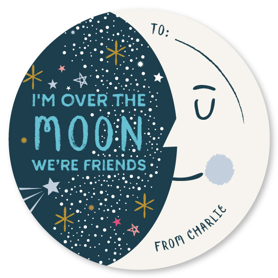 valentine's cards - Over the Moon by Bonjour Berry