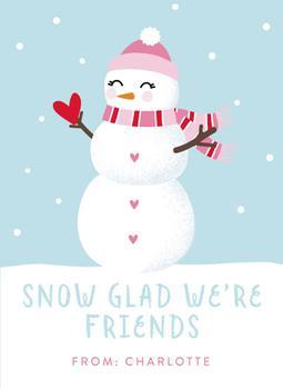 snow glad