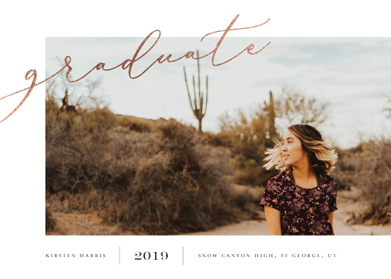 graduation announcements - Off Center by Eric Clegg