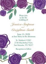 Purple Roses by Jennifer Warren