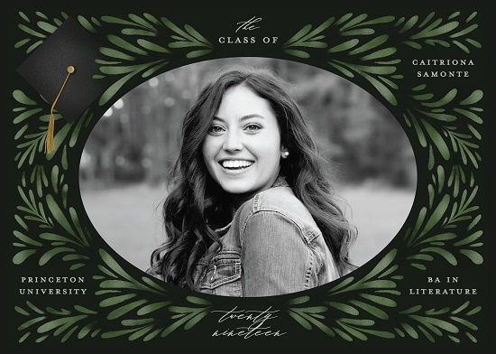 graduation announcements - Classic Foliage by Grae Sales