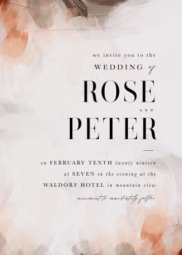 wedding invitations - Romantic by Lori Wemple