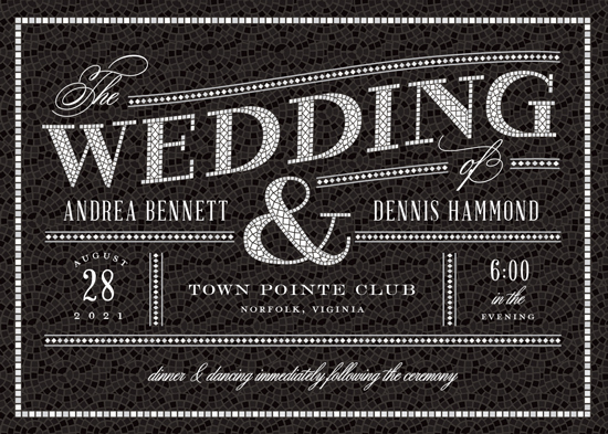 wedding invitations - Intricate by Sarah Brown
