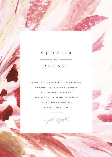 wedding invitations - pollen by Robin Ott