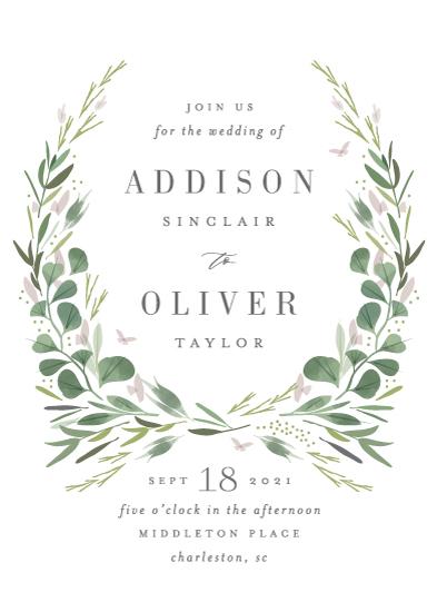 wedding invitations - Garden Path by Kristie Kern