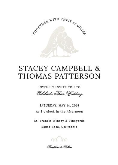 wedding invitations - Love Doves by Cody Alice Moore