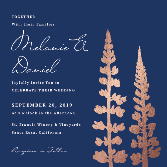wedding invitations - Two Flowers by Cody Alice Moore