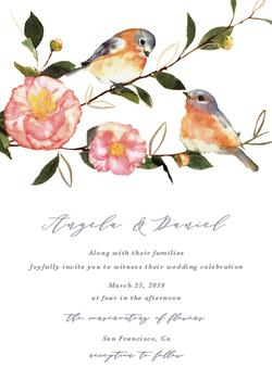 Spring Lovebirds