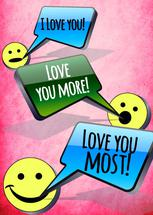 Love You Most! by Cheri Moran