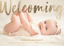 Welcoming Baby by Emily Schramm