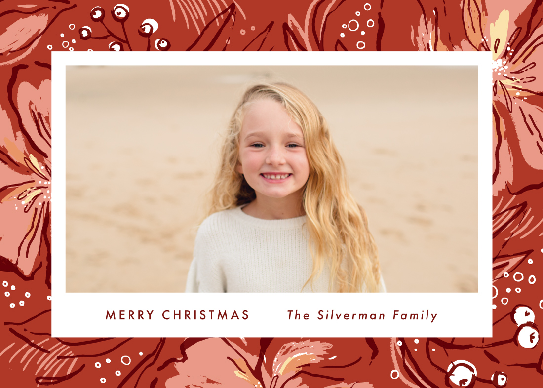 holiday photo cards - Tropical Holiday by Kayla King