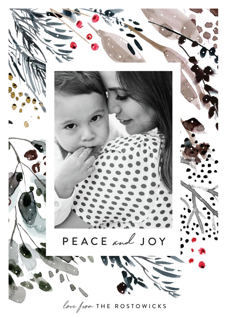 holiday photo cards - Wonderland by Eve Schultz