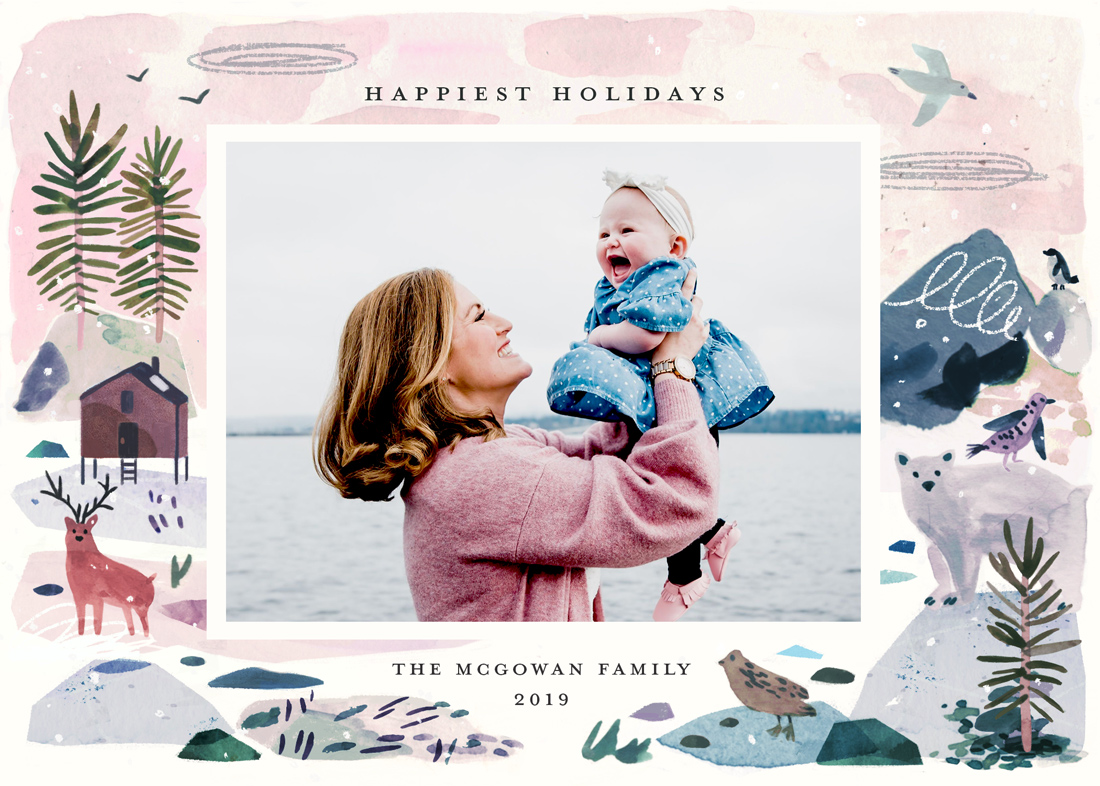 holiday photo cards - Winter Ice by Morgan Ramberg