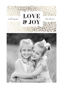 Wishing you love & joy