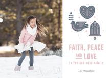 Faith, peace and love by Aleks