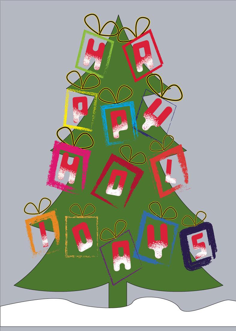 Happy Holidays Gift Ornamnets