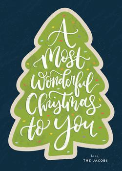 Wonderful Christmas Cookie